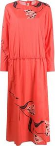 Sukienka Marni w stylu casual z okrągłym dekoltem