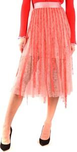 Czerwona spódnica Pinko midi
