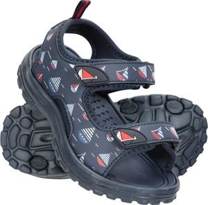 Buty dziecięce letnie Mountain Warehouse dla chłopców na rzepy