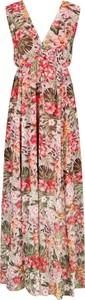 Sukienka Silvian Heach bez rękawów z dekoltem w kształcie litery v