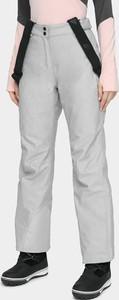 Niebieskie spodnie dziecięce 4F
