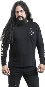 Czarna koszulka z długim rękawem Emp z bawełny z długim rękawem