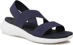 Granatowe sandały Clara Barson