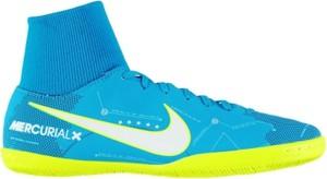 Błękitne buty sportowe Football