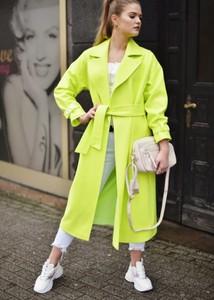 Płaszcz Fason z wełny w stylu casual