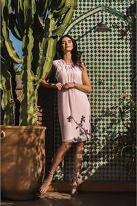 Różowa sukienka Francesca Antonucci