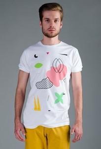 T-shirt Syfon Studio z krótkim rękawem w młodzieżowym stylu