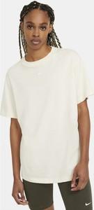 T-shirt Nike z krótkim rękawem z okrągłym dekoltem z bawełny