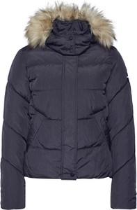 Granatowa kurtka Only w stylu casual