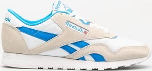 Buty sportowe Reebok z zamszu w sportowym stylu z płaską podeszwą