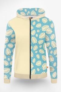 Bluza Power Canvas w młodzieżowym stylu z nadrukiem