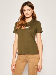 T-shirt Tommy Jeans z okrągłym dekoltem
