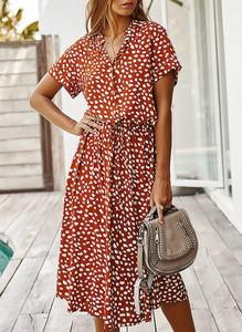 Sukienka Cikelly w stylu casual z krótkim rękawem