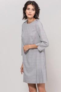 Sukienka Monnari w stylu casual z długim rękawem z okrągłym dekoltem