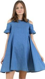 Sukienka MOLLY BRACKEN w stylu casual z krótkim rękawem z okrągłym dekoltem