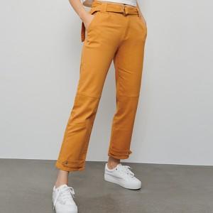 Pomarańczowe spodnie Reserved