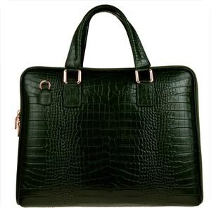 Zielona torebka Borse in Pelle do ręki