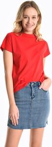 T-shirt Gate z krótkim rękawem z okrągłym dekoltem w stylu casual