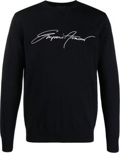 Sweter Emporio Armani w młodzieżowym stylu
