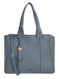 Niebieska torebka Liu-Jo Jeans ze skóry na ramię