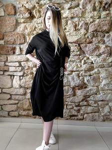 Czarna sukienka fagobutik.pl sportowa