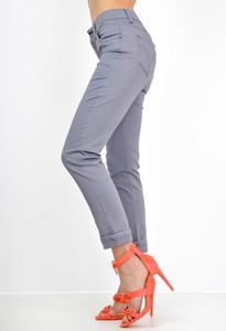 Fioletowe spodnie Zoio w stylu casual