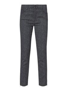 Czarne spodnie Brax z bawełny w stylu boho