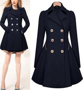 aa4c22745087e6 modne płaszcze wiosenne damskie - stylowo i modnie z Allani