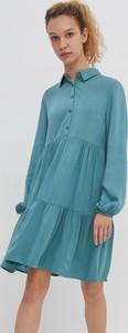 Sukienka House szmizjerka z kołnierzykiem mini