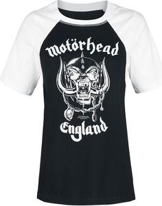 T-shirt Emp z bawełny z okrągłym dekoltem w młodzieżowym stylu