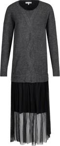 Sukienka Silvian Heach z długim rękawem midi