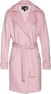 Różowy płaszcz bonprix bpc selection premium