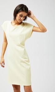 Żółta sukienka Moodo mini