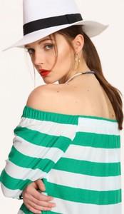 Bluzka Top Secret w stylu casual z tkaniny