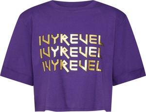 Bluzka Ivyrevel z okrągłym dekoltem w młodzieżowym stylu