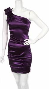 Fioletowa sukienka B. Smart mini