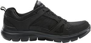 Buty sportowe Skechers z płaską podeszwą flex