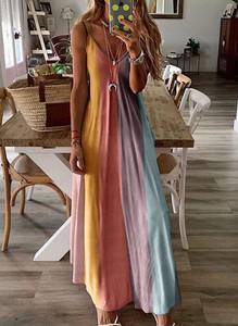 Sukienka Sandbella w stylu boho
