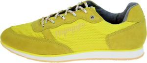 Buty sportowe Napapijri sznurowane z płaską podeszwą