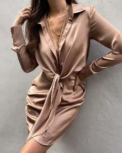 Sukienka Kendallme mini w stylu casual koszulowa