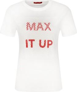 T-shirt Max & Co. z krótkim rękawem