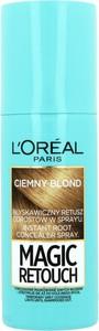 L'Oreal Paris L'Oreal Paris, Magic Retouch, spray do retuszu odrostów, ciemny blond, 75 ml