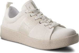 Sneakersy CALVIN KLEIN JEANS - Gerardo Twill S0528 Off White