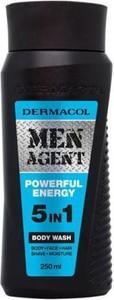 Dermacol Men Agent 5in1 Powerful Energy Body Wash żel do mycia ciała 250ml