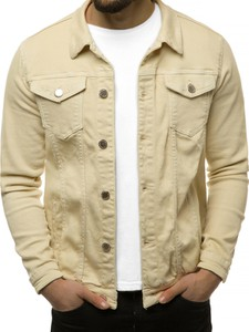 Kurtka producent niezdefiniowany w stylu casual z jeansu