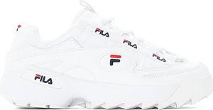 Sneakersy Fila sznurowane ze skóry