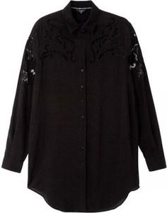 Czarna koszula Desigual z bawełny