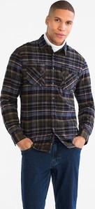 Koszula ANGELO LITRICO z długim rękawem z klasycznym kołnierzykiem