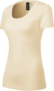 T-shirt Malfini z okrągłym dekoltem w stylu casual z wełny