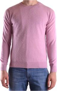 Różowy sweter Altea w stylu casual